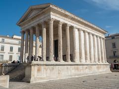 Maison Carrée, Nîmes, Languedoc-Roussillon, France (antonskrobotov) Tags: france languedoc nimes gard ancient ancientcity romanempire romanforum temple