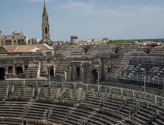 Roman amphitheatre, Nîmes, Languedoc-Roussillon, France (antonskrobotov) Tags: france languedoc nimes gard ancient ancientcity romanempire amphitheatre romanamphitheatre romanamphitheater
