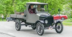 1922 Ford TT Flatbed truck, Explore No. 33 (Gösta Knochenhauer) Tags: 2016 may stockholm sverige sweden capital djurgården gärdesloppet prins bertil memorial car veteran panasonic lumix fz1000 dmcfz1000 p9040396nik p9040396 nik schweden suède svezia suecia leica lens