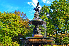 Bethesda Fountain Central Park Manhattan New York City NY P00368 DSC_1407 (incognito7nyc) Tags: newyork newyorkcity nyc ny nyny nycny nycnyc newyorknewyork manhattan centralpark fall autumn october foliage fallfoliage park nature tree trees forest clouds sky bethesdafountain bethesdaterrace bethesdaangel angel fountain terrace sunny sunnyday beautifulday autumnday waterfall city view amazing beautiful wonderful cityofdreams nyccityofdreams cityofdreamsnyc empirestate empirestateofmind nycstateofmind newyorkstateofmind newyorklife newyorkdream newyorkdreams citylife bigcity bigcitylife america northamerica usa unitedstates unitedstatesofamerica unitedstatesofawesome loveus loveusa nikon dslr d3100 nikond3100 ilovenewyork lovenewyork loveny lovenyc incognito7dcv incognito7nyc statue