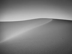dune one mono edit (hang five) Tags: dünen sand wüste bnw landscape minimalistisch dune desert minimalistic maroc morocco marokko merzouga sahara ergchebbi