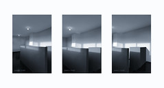 Form follows function . . . (Dichtung & Wahrheit (Poetry and Truth)) Tags: architecture art bauhaus triptych