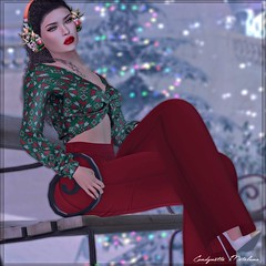 Christmas is coming !!! (Candynette Metaluna) Tags: seniha remezzo stealthic revoul vrsion ostentation anthemevent uber thearcade secondlife sl
