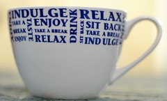 anyone for a cuppa? (conall..) Tags: smileonsaturday mugswithwords mug tea naturallight sunlight outside relax sitback enjoy