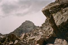 Garnet Canyon (szmenazsófi) Tags: smenasymbol lomo smena analog analogue film 35mm outdoor nature hike hiking trail tetons grandtetonnationalpark middleteton garnetcanyon boulders grandteton