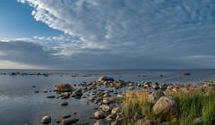 on the cape (Seerin Kama) Tags: suurupi summer coast sea shore cape seascape landscape evening trip estonia pentax
