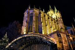 Dom (r.wacknitz) Tags: erfurt dom weihnachtsmarkt thüringen nightphotography architektur architecture architettura arquitectura church historic nikond5600 tamron18200 luminar18 lightroom