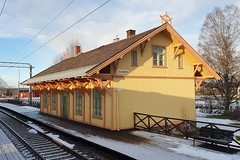 Sander stasjon (Michael Erhardsson) Tags: sander norge norway 2019 station