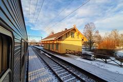 Sander stasjon 2019-12-07 (Michael Erhardsson) Tags: sander stasjon stationshus norge norway 2019