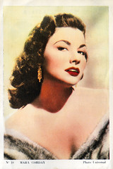 Mara Corday (Truus, Bob & Jan too!) Tags: maracorday mara corday american actress hollywood filmstar sexy pinup film pictures screen movie movies cinema cine kino filmster star sweet lovely glamorous picture vintage collectors card sammelkarte verzamelkaart carte tarjet cartolina universal merbotex