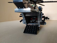 """Lego """"Leviathan"""" Heavy Helicopter (5) (Parm Brick) Tags: lego military air moc mod afol heavy helicopter army modern force"""