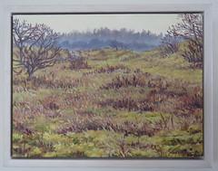 Kris Spinhoven - Dunes near Castricum (March, 2015) (Elisa1880) Tags: kris spinhoven schilderij painting duinen bij castricum dunes near 2015