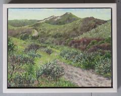 Kris Spinhoven - Dunes near Castricum (April, 2012) (Elisa1880) Tags: kris spinhoven schilderij painting duinen bij castricum dunes near 2012