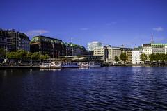 Hamburg0289 (schulzharri) Tags: hamburg deutschland germany europa europe architektur architecture haus building outside drausen water wasser sun sonne