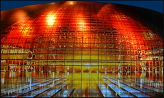 Beijing operahouse at night (jackfre 2 (thx for 22 million visits)) Tags: china beijing opera operahouse night lighting