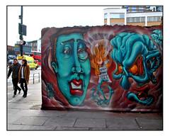 STREET ART by COE1 & THE REAL DILL (StockCarPete) Tags: therealdill coe1street art london uk streetart londonstreetart graffiti