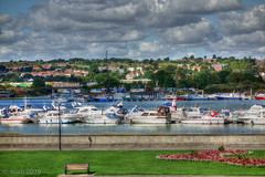 _DSC3261_Enhancer_b (busb) Tags: river medway rivermedway boats busb sony rx100 raw rochester outdoors outside kent england uk photomatixpro61 psp22 clouds yachts crane quay hdr hdrfromasingleraw