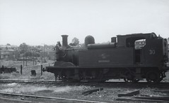 Image00018_cr (OldRailPics) Tags: isle wight steam locomotive british railways w30 shorwell