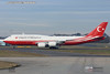 Republic of Turkey Boeing 747-8 TC-TRK President Erdogan arriving for NATO summit 3 Dec 2019