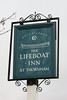 The Lifeboat Inn pub sign Thornham Norfolk UK