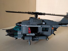 """Lego """"Leviathan"""" Heavy Helicopter (2) (Parm Brick) Tags: lego military air moc mod afol heavy helicopter army modern force"""