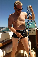 mike halsey sexy swim trunks boat (creamydude) Tags: mike halsey tv host seattle chest bare nude sexy yacht boat sun water man naked swim suit skin tan mikehalsey north west best masculine gallant bond 007