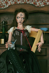 Mélusine (Mdame Follow-the-Wind) Tags: narae narae58 bimong bjd doll abjd steampunk mélusine