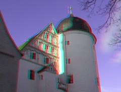 Wurzen bei / near Leipzig (Rolf Marquardt) Tags: 3d stereo anaglyph rotcyan redcyan wurzen schloss castle