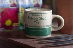 Mugs with Words (jillyspoon) Tags: mugswithwords smileonsaturday gardening pottingshed mug drink coffee tea shed takeabreak sony sonya7iii sonyalpha