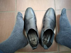 More boots 8 (Adam11051983) Tags: black boot boots chelsea feet foot footwear leather men mens shoe shoes sock socks