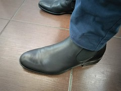 More boots 1 (Adam11051983) Tags: black boot boots chelsea feet foot footwear leather men mens shoe shoes