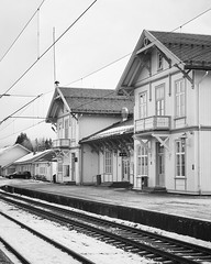 Kongsvinger 2019-12-07 (Michael Erhardsson) Tags: kongsvinger norge station norway 2019