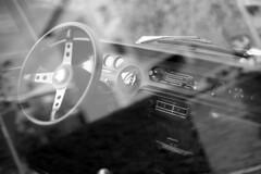 Lancia Fulvia - Reggio Emilia - October 2019 (cava961) Tags: lancia fulvia car vintage analogue analogico monochrome monocromo bianconero bw canon fp4 ilford