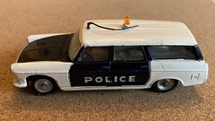 Dinky Toys France - Number ??? Peugeot 404 Estate Police Car - Miniature Die Cast Metal Scale Model Emergency Services Vehicle. (firehouse.ie) Tags: france cars car metal wagon french toy toys miniatures miniature model cops estate models coche cop peugeot coches dinky meccano triang 1429 dinkytoys dinkyfrance dinky1429 vintage