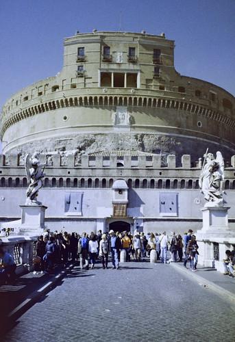 Rome - Castel Sant'Angelo (35mm Kodak Ultramax 400)