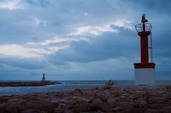 Señales (Colector_Col) Tags: mar canal cielo azul espigón cullera valencia españa