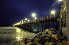 O'Side Pier 6am 38-12-6-19-70D (rod1691) Tags: california united states nature beauty usa tropical paradise sunrise palm trees outdoor landscape seascape walkabout sunset photography travel beach sand sun pier strand canon40506070d5dii walknshoot