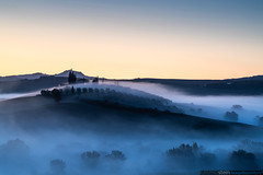 Morning Fog in the Tuscany [Explored] (no.zomi) Tags: europa italien pienza toscana tuscany italy sony sonya7 glens 70200 moring mist a7r4 a7riv