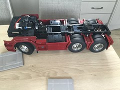 Photo of Tamiya Scania 6x4 model build