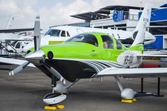 Cessna T240 Corvalis TTx HS-GOD (nighteye) Tags: cessna t240 corvalis ttx hsgod singaporeairshow2014 changiexhibitioncentre singapore
