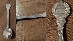 Lepeltje - Cooperatieve Raiffeisenbank Gorinchem (1912-1962) (Barry van Baalen) Tags: lepeltje raiffeisenbank gorinchem 1912 1962 jubileum gorkum gorcum spoon lepel anniversary