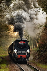 City of Wells Santa Special (Mister Oy) Tags: cityofwells 34092 srwestcountry loco locomotive steam train engine smoke summerseat elr eastlancsrailway railway santaspecial