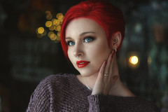 Singer-Songwriter Aubrey Burchell (Images by A.J.) Tags: aubrey burchell singer songwriter vocalist red hair pierced lips lipstick short fashion editorial portrait retrato pittsburgh westmoreland pennsylvania vocal music musician band americanidol