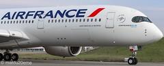 Airbus A350-900 / Air France ( Saint Denis de la Réunion) (matdu20eme) Tags: toulouse megaplane spotting spotter planespotter planespotting avporn avgeek airbusa350 a350 airbus airfrance airlines airliner aircraft airplane
