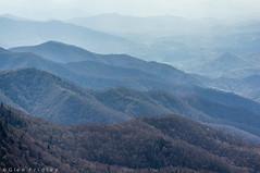 Layered mountains (20170413 GCF 224.jpg) (Glen Fridley) Tags: haze spring pisgahnationalforest northcarolina mountains sky blueridgeparkway appalachianmountains clouds
