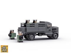 Lego micro Opel Blitz truck and soldiers (BuildArmy) Tags: buildarmy opelblitz german ww2 worldwar2 opeltruck lego legomicro legomoc