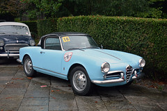 Alfa Romeo Giulietta Spider (Maurizio Boi) Tags: car auto voiture automobile coche old oldtimer classic vintage vecchio antique italy alfaromeo giulietta spider