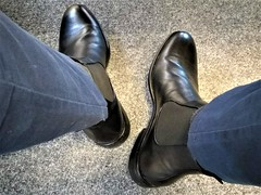 More boots 9 (Adam11051983) Tags: black boot boots chelsea feet foot footwear leather men mens shoe shoes
