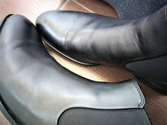 More boots 6 (Adam11051983) Tags: black boot boots chelsea feet foot footwear leather men mens shoe shoes