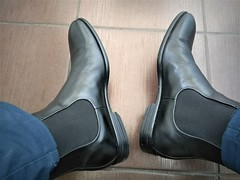 More boots 3 (Adam11051983) Tags: black boot boots chelsea feet foot footwear leather men mens shoe shoes
